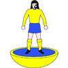 Doncaster Rovers Belles Subbuteo Figure