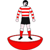 Doncaster Rovers Subbuteo Figure