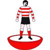 Doncaster Rovers Subbuteo Figure