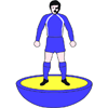 Frickley Athletic Subbuteo Figure