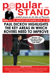 popular STAND fanzine issue 71 front cover