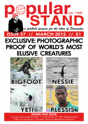 popular STAND fanzine issue 57 front cover