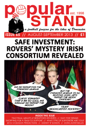 Front cover of popular STAND fanzine issue 65