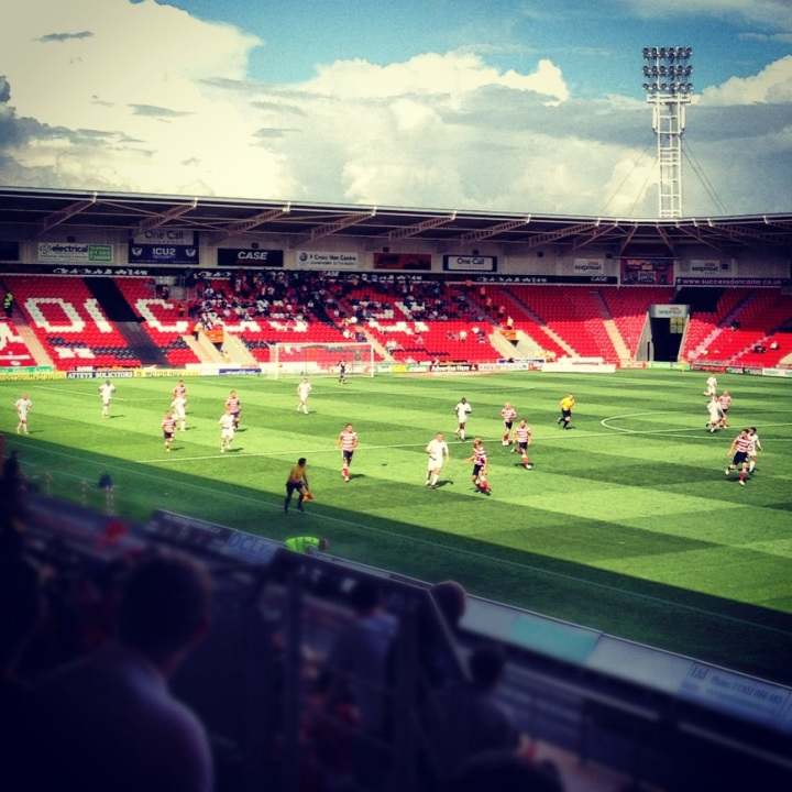 Doncaster Rovers 1-1 Crawley Town; 250 word matchreport