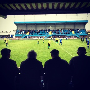 Whitby Town v Blyth Spartans - Whitby supporters