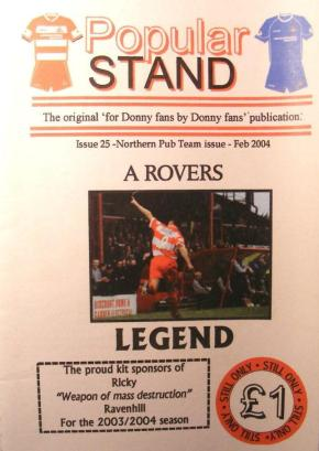 Front cover of Issue 25 of the fanzine