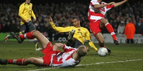 Gilberto scores equaliser against Doncaster
