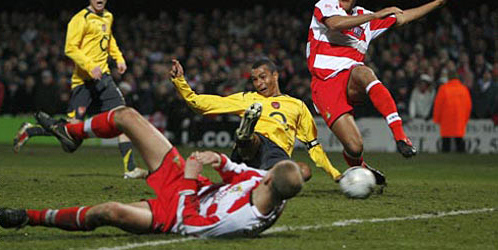 Gilberto scores equaliser against Doncaster