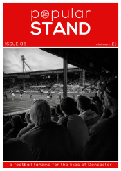 popular STAND fanzine front cover of issue 85