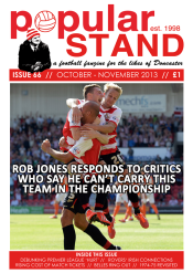 popular STAND issue 66 front cover