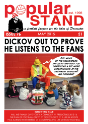 Front cover of issue 76 of popular STAND fanzine