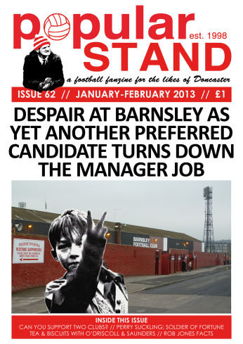 front cover of issue 62 of popular STAND