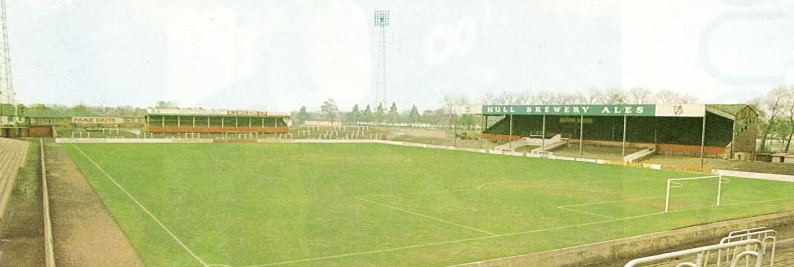 Belle Vue old fashioned football ground