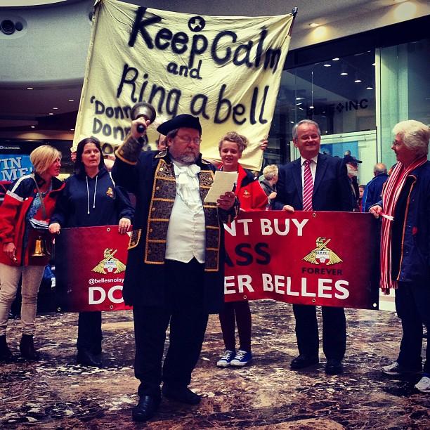 Doncaster Belles Protest The FA