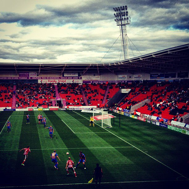Doncaster Rovers 0-1 Shrewsbury Town; 400 word matchreport