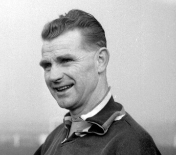 Peter Doherty, manager of Doncaster Rovers during the 1950s