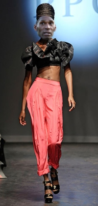 Leo Fortune West at London Fashion Week 1