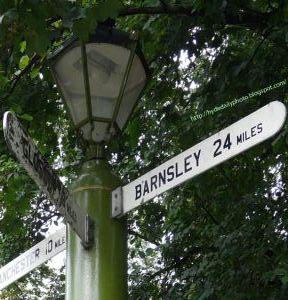 Barnsley Signpost