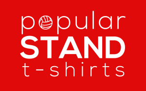 popular STAND logo linking to t-shirt shop