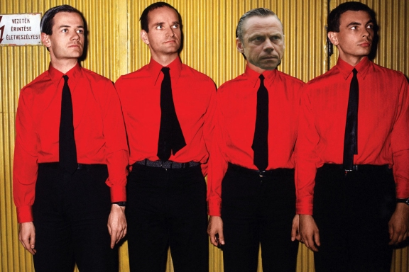 Paul Dickov, formerly of Kraftwerk