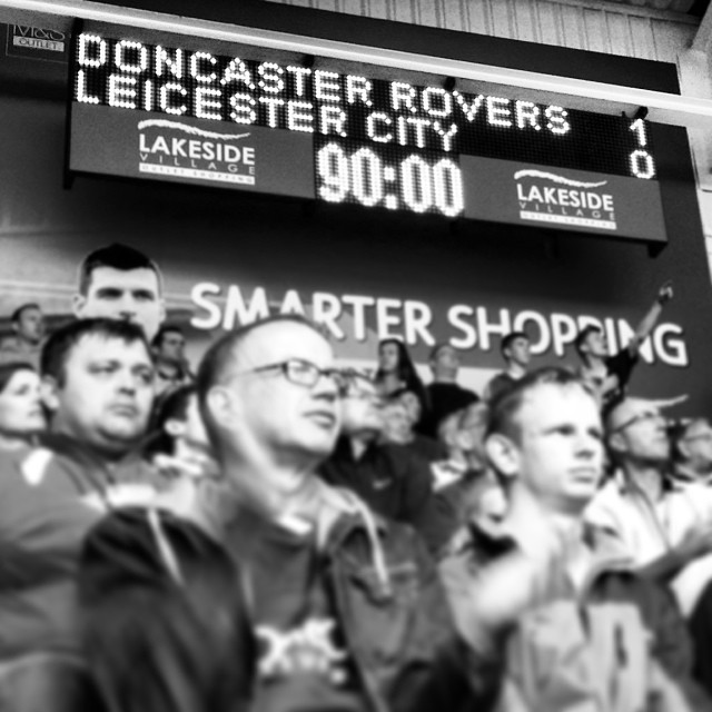 Doncaster Rovers 1-0 Leicester City