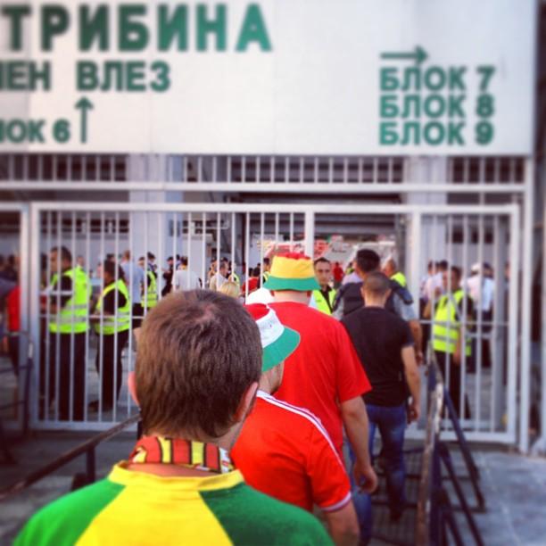 Macedonia 2-1 Wales
