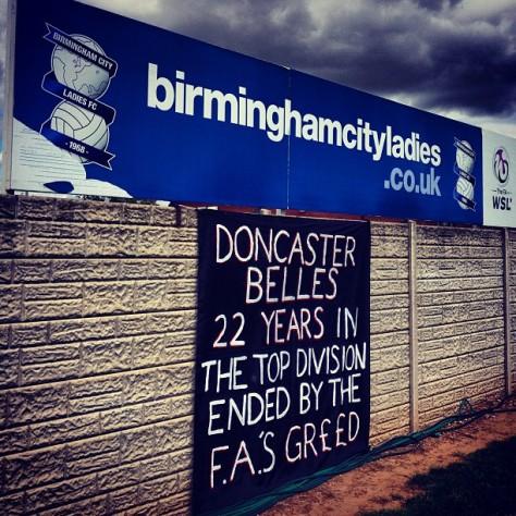 Birmingham City 1-0 Doncaster Belles