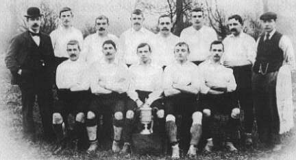 1898 FA Cup winners - Nottingham Forest