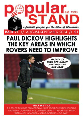 popular STAND fanzine 71 Front Cover