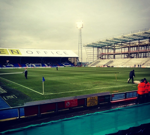 A view of Boundary Park ahead of Oldham Athletic versus Doncaster Rovers