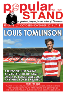 popular STAND fanzine issue 72