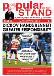 popular STAND fanzine issue 75 cover