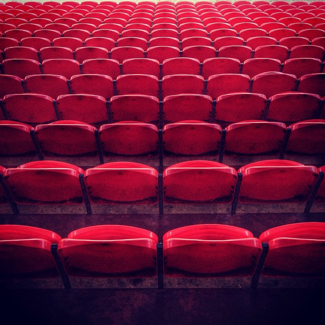 Empty seats at Doncaster's Keepmoat Stadium