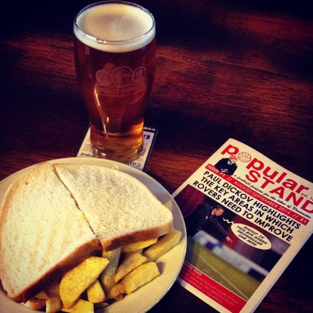 A pre-match read of the first edition of popular STAND fanzine of 2014-15 season