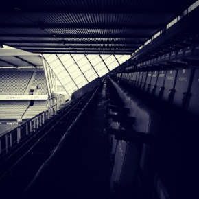 Empty seats in The Den, home of Millwall FC