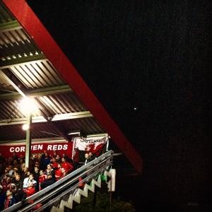 Wales fans in Zenica, Bosnia