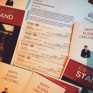 Cheques from popular STAND fanzine to go to charities in Doncaster