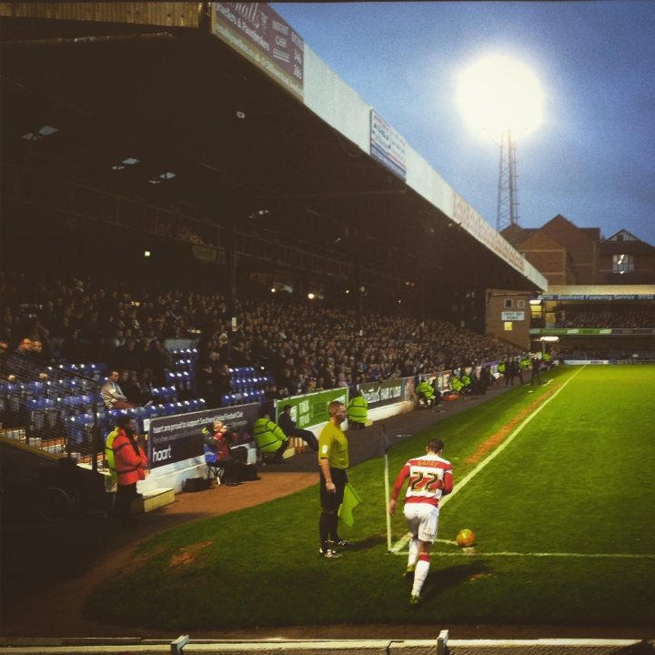 Southend United 0-3 Doncaster Rovers: 250 word matchreport