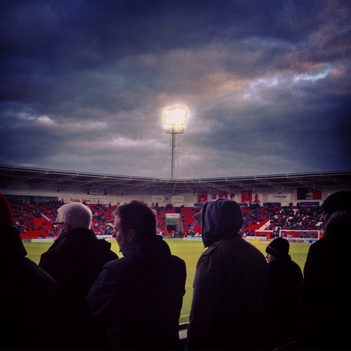 Doncaster Rovers 2-2 Accrington Stanley; 250 word matchreport