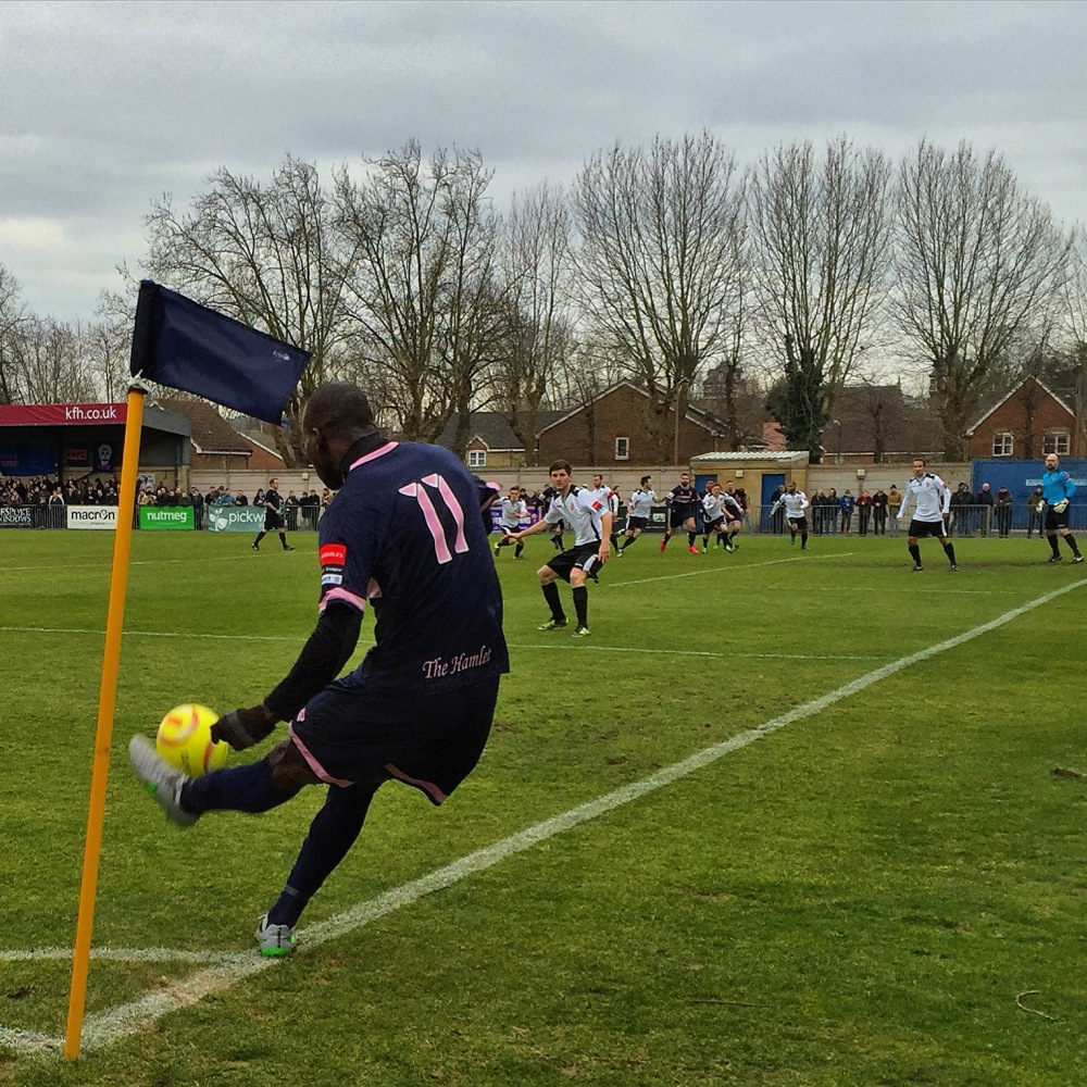 Dulwich Hamlet 2-2 East Thurrock United