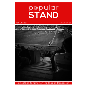 popular STAND fanzine; issue 82 front cover preview