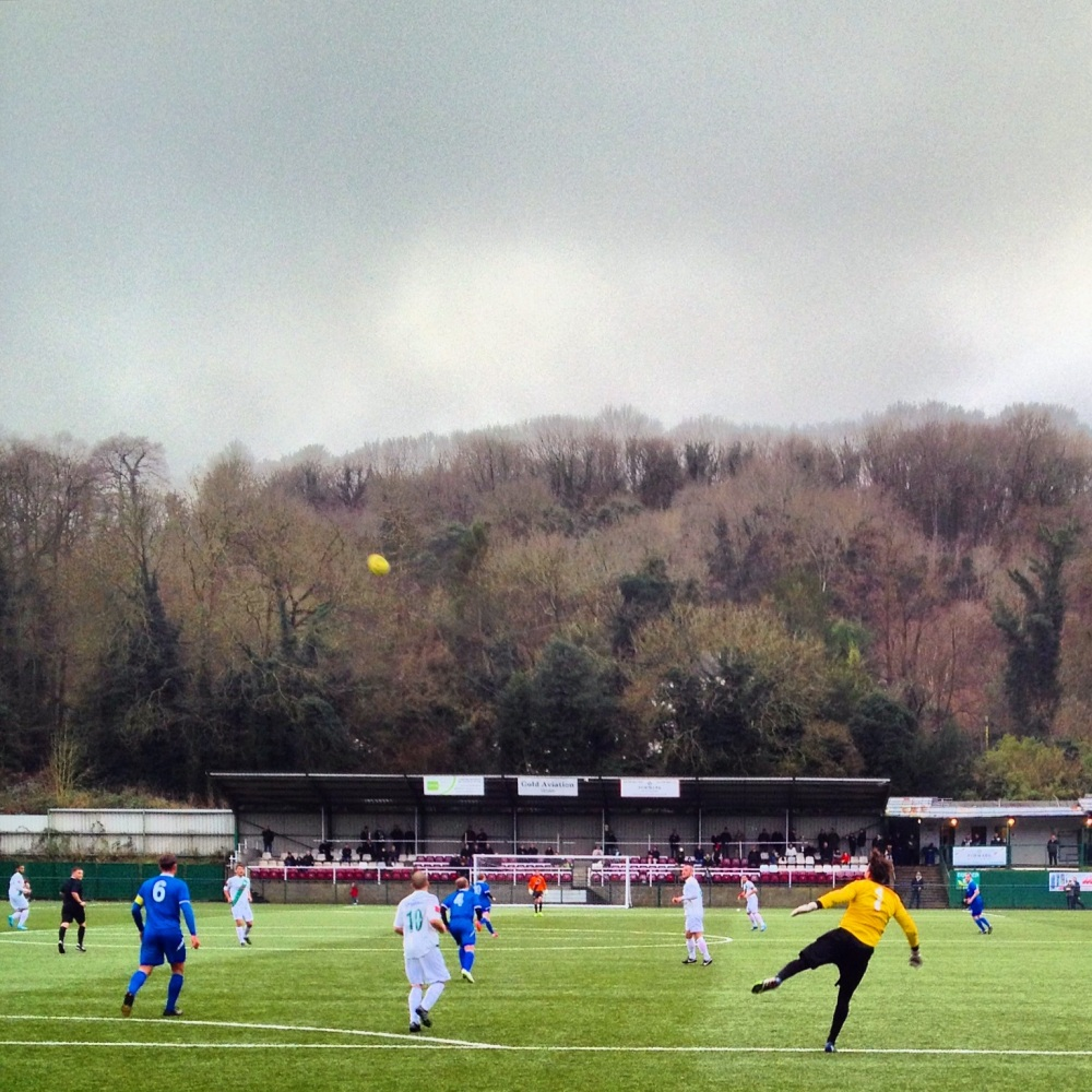 Whyteleafe 1-1 Three Bridges