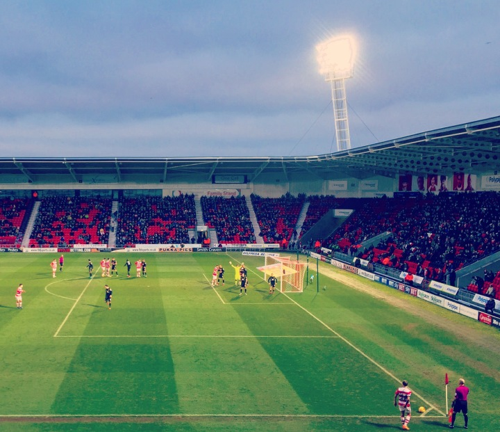 Doncaster Rovers 3-1 Crewe Alexandra: 250 word match report
