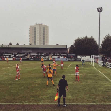 Arsenal 2-0 Doncaster Rovers Belles