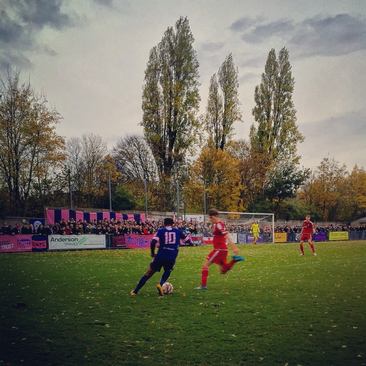 Dulwich Hamlet 4-1 Worthing