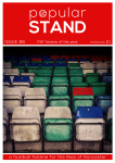 front cover of issue 86 of popular STAND fanzine