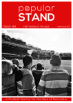 front cover of issue 88 of popular STAND fanzine