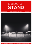front cover of issue 87 of popular STAND fanzine