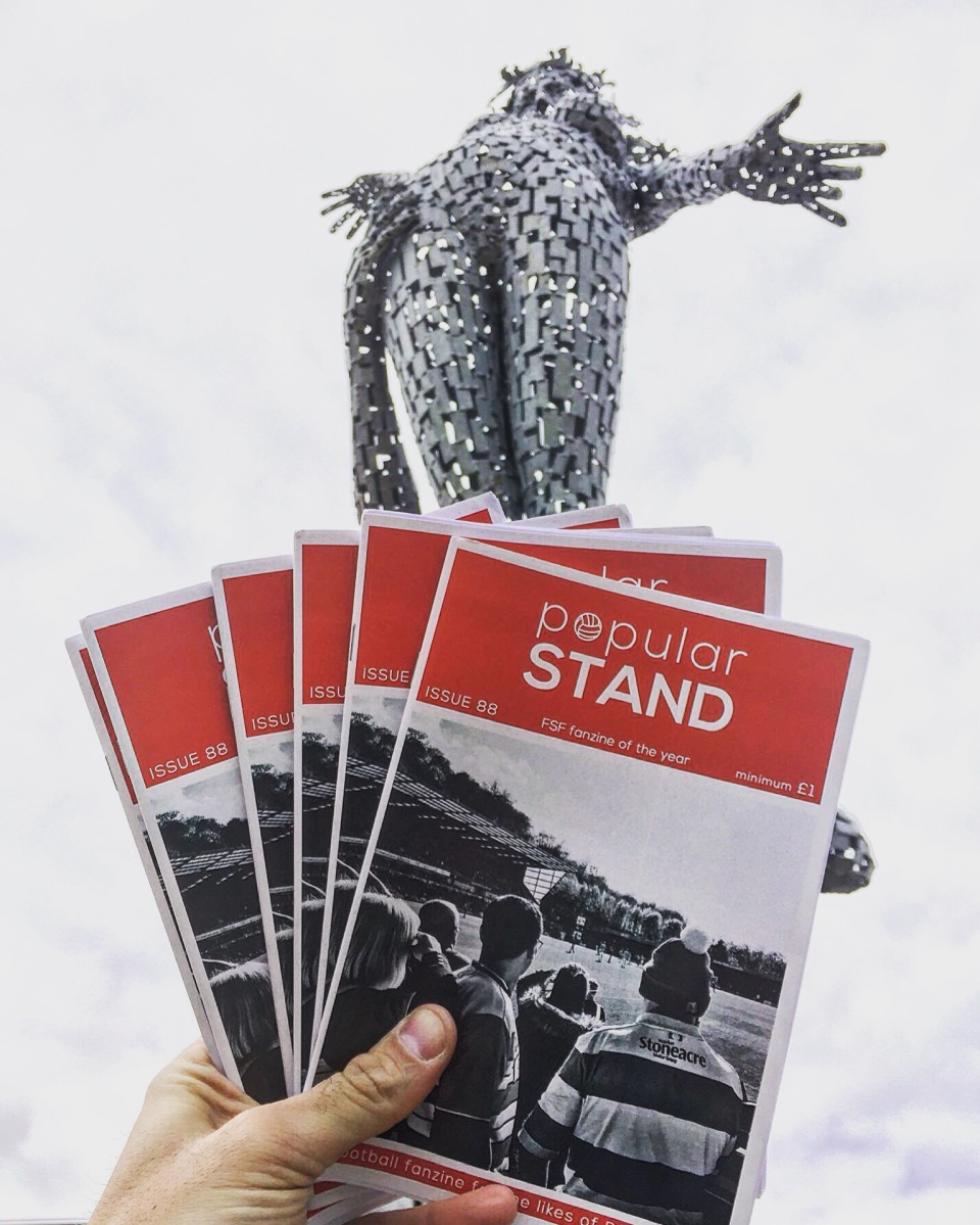 popular STAND fanzine issue 90 on sale at Doncaster Rovers v Walsall