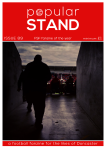 front cover of popular STAND fanzine, issue 89